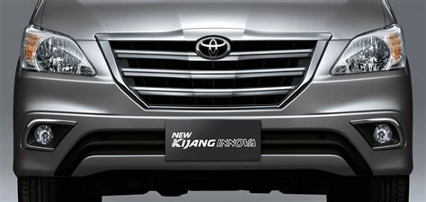 Grill Custom Innova Reborn toyota innova facelift s indian price list leaked