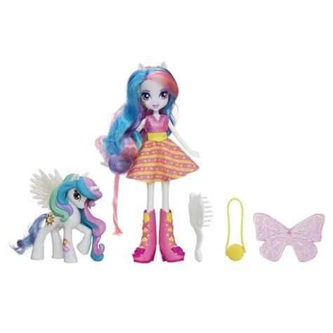 My Little Pony Poupée Equestria Girls Celestia et son