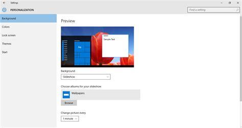 windows 10 getting started tutorial windows 10 tutorial view a slideshow on your desktop