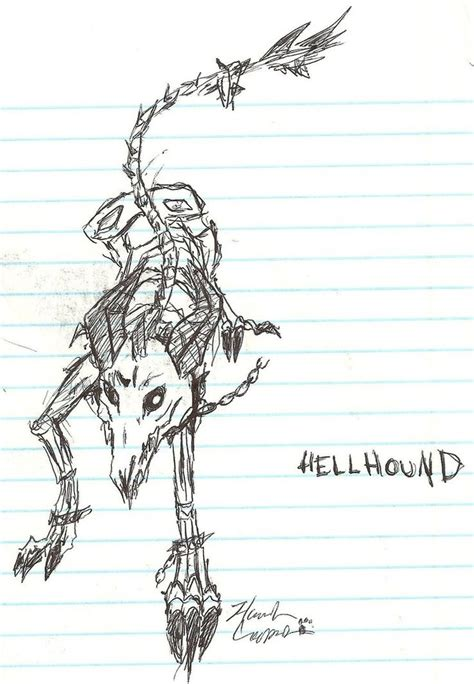 hellhound tattoo 53 best hellhound drawings images on
