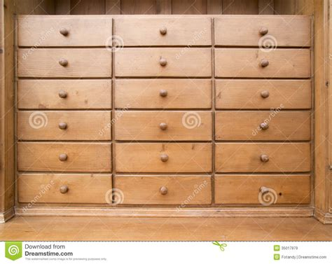 Drawers stock image. Image of case, furniture, cabinet