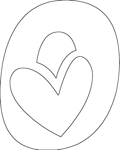 letter o color pages colouring pages