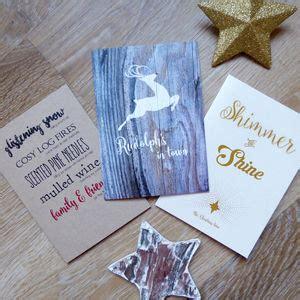 raindeer shiers five handmade reindeer cards by eggs notonthehighstreet