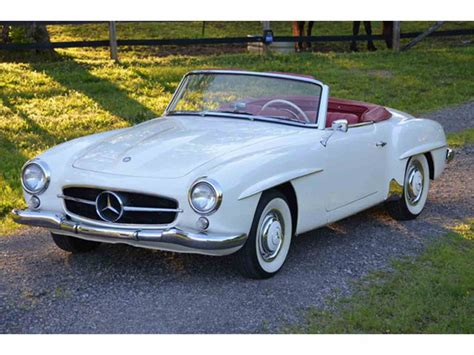 Mercedes 190 Sl by 1960 Mercedes 190sl For Sale Classiccars Cc