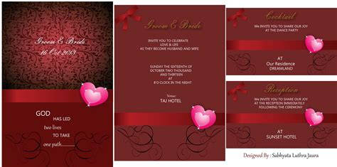 illustrator invitation card template design wedding card using illustrator wedding o