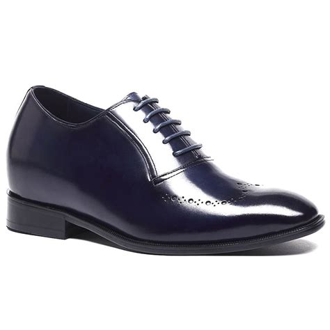 luxury leather elevator shoes for custom