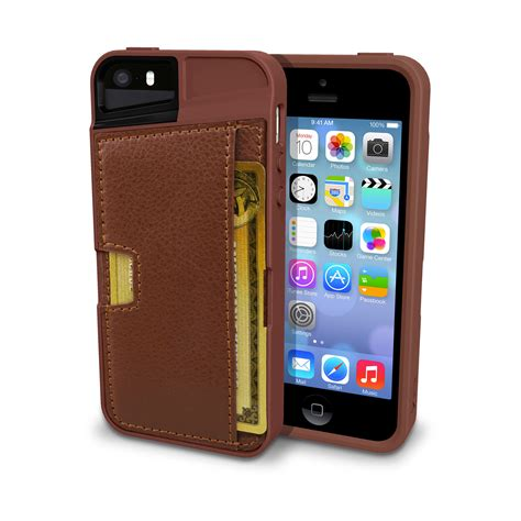 Exclusive Design Kulit For Iphone 5 5s Leather Black Or Brown q card iphone 5 5s cm4 touch of modern