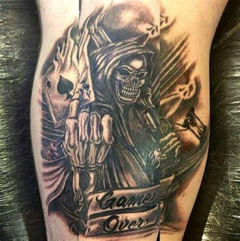 tattoo fixers grim reaper 50 cool grim reaper tattoo designs ideas 2018