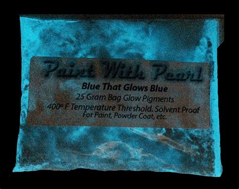 glow in the paint lasting blue to blue glow in the paint pigment paint with pearl