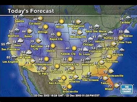 us weather map with state names esl understanding today s weather report from the united