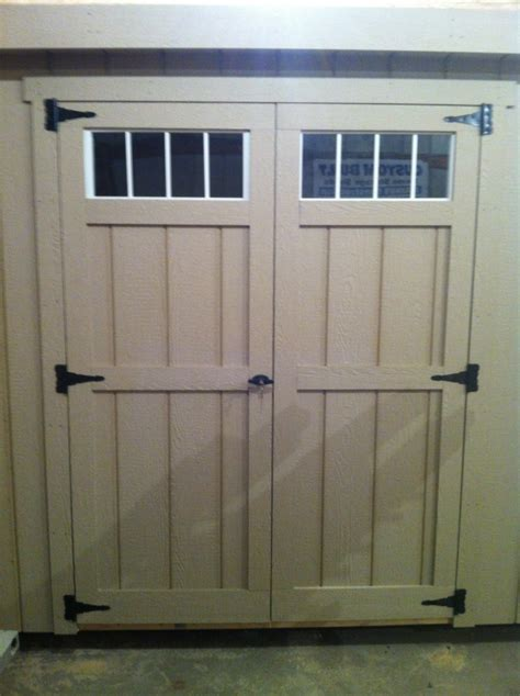Pre Made Shed Doors by Mainus Construction Waterford Wisconsin