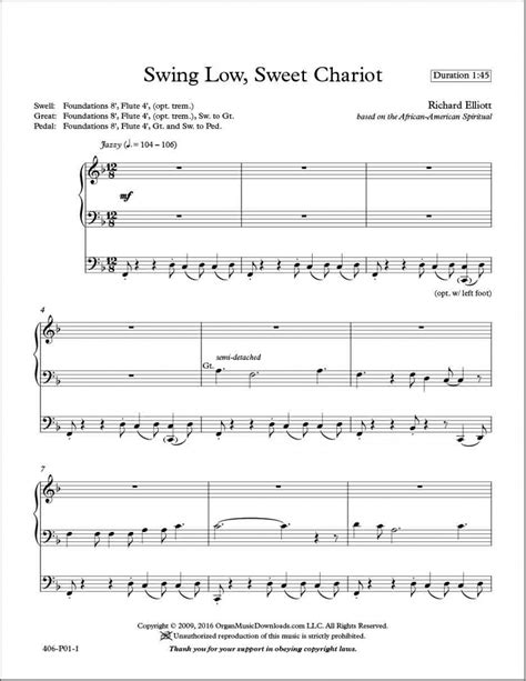 swing low sweet chariot original version elliott richard swing low sweet chariot