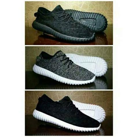 Sepatu Adidas Yezzy Boost Abu sepatu sneakers adidas yeezy boost import 4 variasi