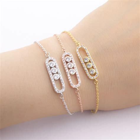 Accessories Gold Bracelet 2017 new simple design gold bracelets charms gold