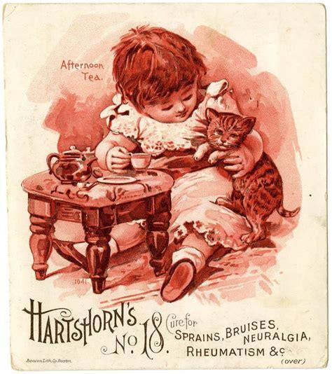 Gift Card Trade - vintage 1880s medical trade cards retrographik
