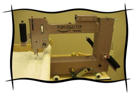 Hinterberg Machine Quilting Frame by Quilter 174 By Nolting Manufacturing The Compact Longarm