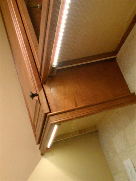 kitchen cabinet undermount lighting undermount lighting rope lights diy pinterest