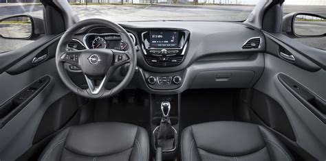 opel karl interior 2016 chevrolet spark interior photos surface gm authority