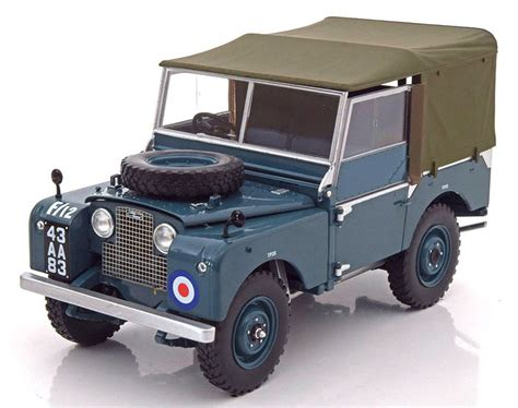 land rover raf minichs scale 1 18 land rover series 1 raf 1948