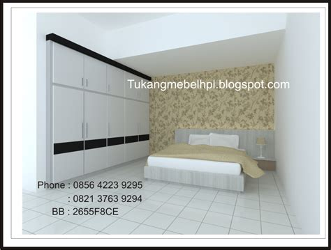 Lemari Pakaian Wardrobe Hpl tukangmebelhpl interior design booth pameran kitchen