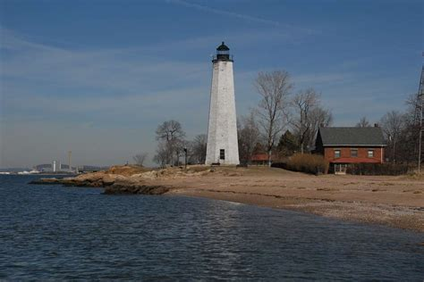 Five Mile Point Light by Five Mile Point New Harbor Light Lighthouse Park