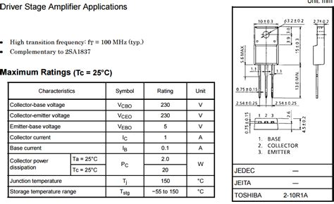 transistor d718 equivalent transistor d718 pinout 28 images d718 datasheet d718 pdf pinouts circuit toshiba transistor