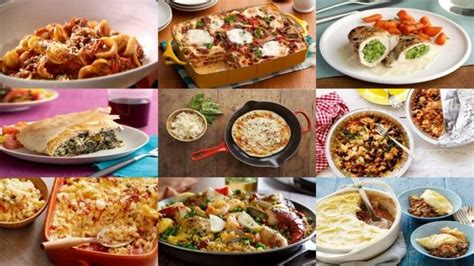 100 family dinners recipes food network uk