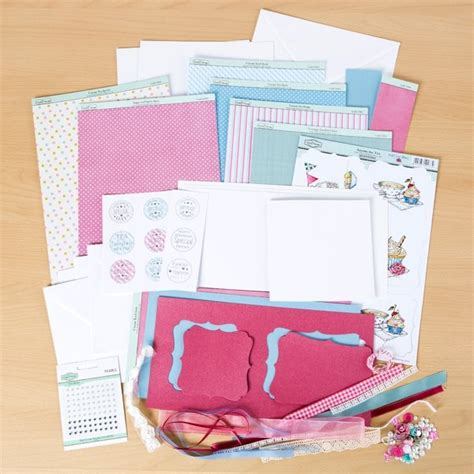 The Hobby House Anyone For Tea Card Kit Uk
