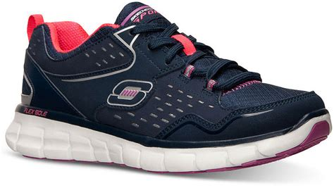 athletic shoes with memory foam skechers front row memory foam running sneakers from