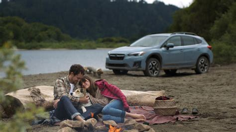 woman from crosstrek commercial subaru launches new advertising caign that brings to
