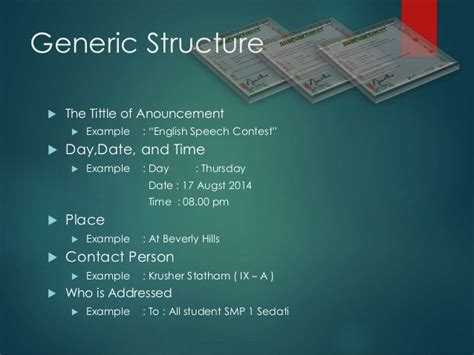 generic structure short biography invitation card generic structure images invitation