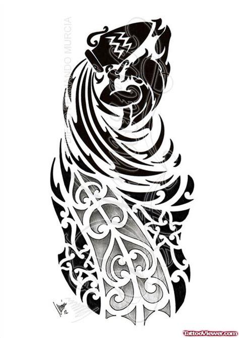 tribal aquarius tattoo designs 44 best aquarius designs