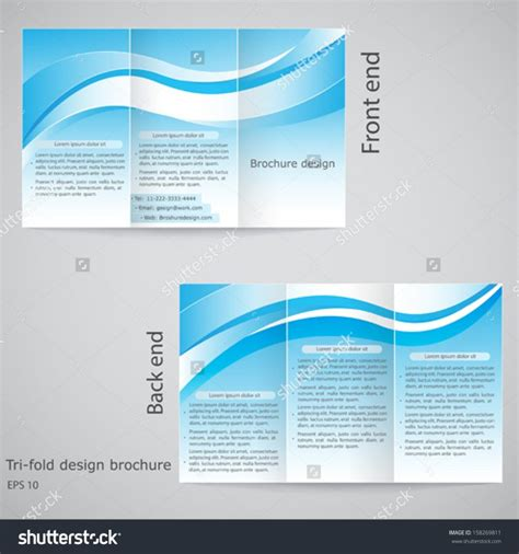 28 Images Of 4 Fold Brochure Template Free Leseriail Com Tri Fold Template Illustrator Free
