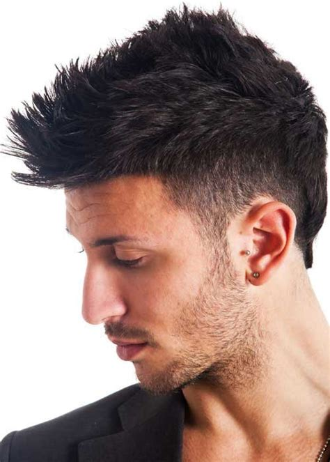 nice mohawk hair styles best mens short hairstyles for thick hair mens