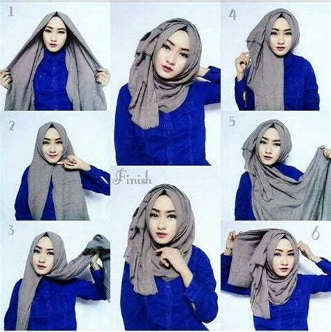 tutorial hijab simple jaman sekarang 25 kreasi tutorial hijab segitiga simple terbaru 2018