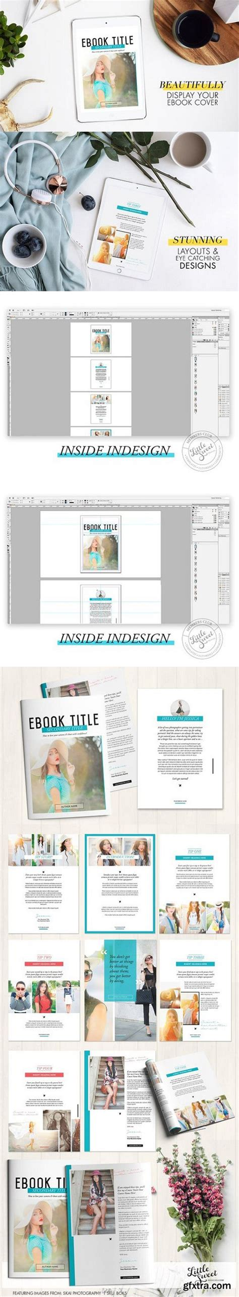indesign indd magazine template download