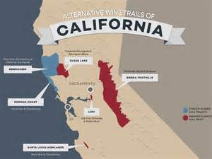 clarksburg california map 8 alternative wine trails of california wine folly
