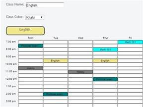 5 free websites to create timetable