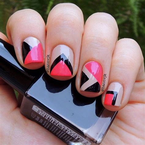 geometric pattern nail art 127 best images about geometric nail art on pinterest