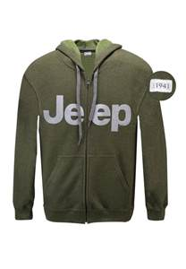 Jeep Sweatshirts Jeep Gear Unisex Vintage Classic Zip Hooded