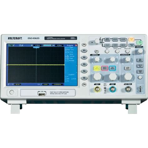 Oscilloskop Digital voltcraft dso 1062d channel oscilloscope digital storage oscilloscope from conrad