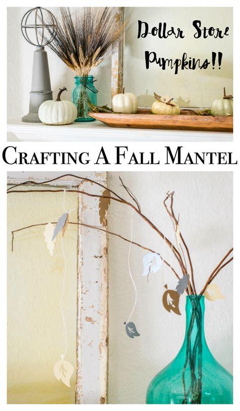 cricut home decor projects fall craft ideas for a mantel home decor with a cricut
