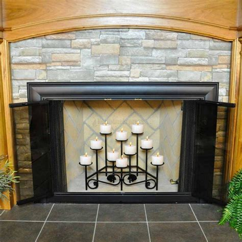 for fireplaces iron candle holders for fireplace fireplace designs