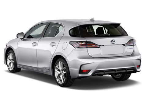 lexus ct200h rear image 2017 lexus ct ct 200h fwd angular rear exterior