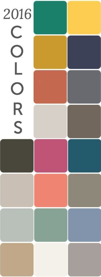 2016 color trends color trends trends and home decor on pinterest