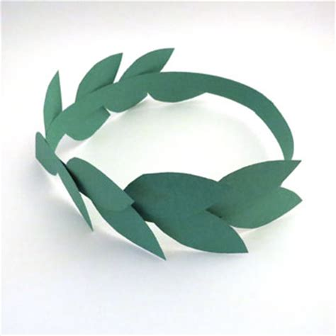 laurel leaf crown template laurel wreaths three ways small talk