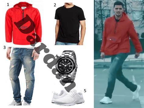 dardan outfit mit rotem hilfiger windbreaker hoodside