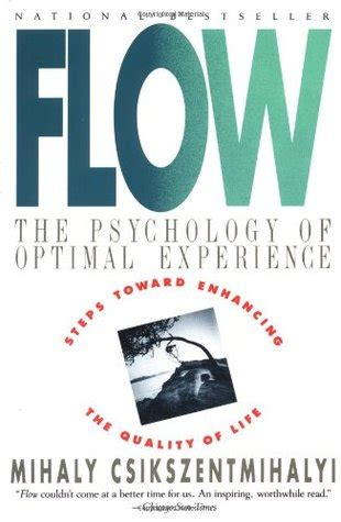 flow the psychology of optimal experience by mihaly