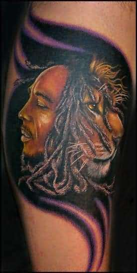 bob marley tribal tattoos bob marley