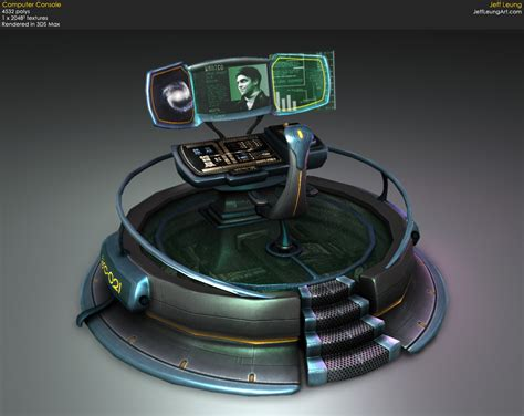console computer jeff leung portfolio computer console